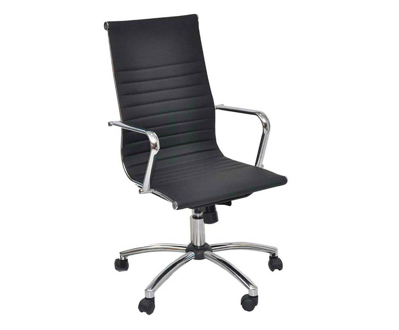 Cadeira inspector - preta   Westwing.com.br
