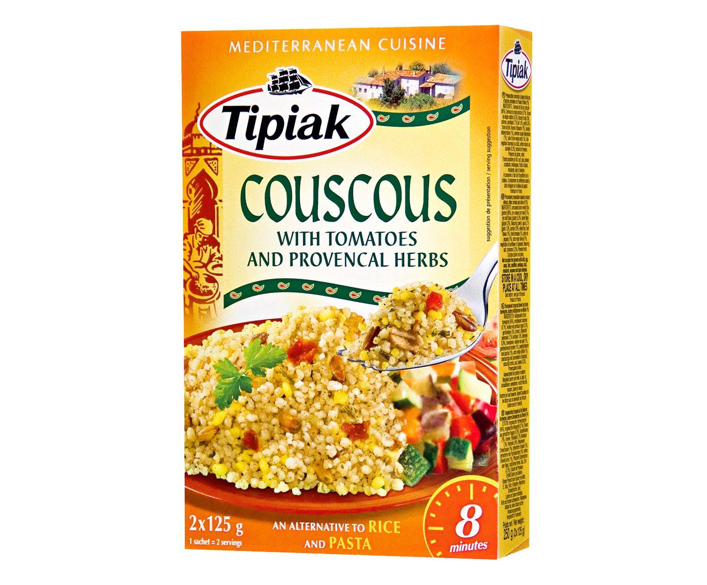 Couscous Francês Tipiak Tomates Herbes de Provence - 250G | Westwing.com.br