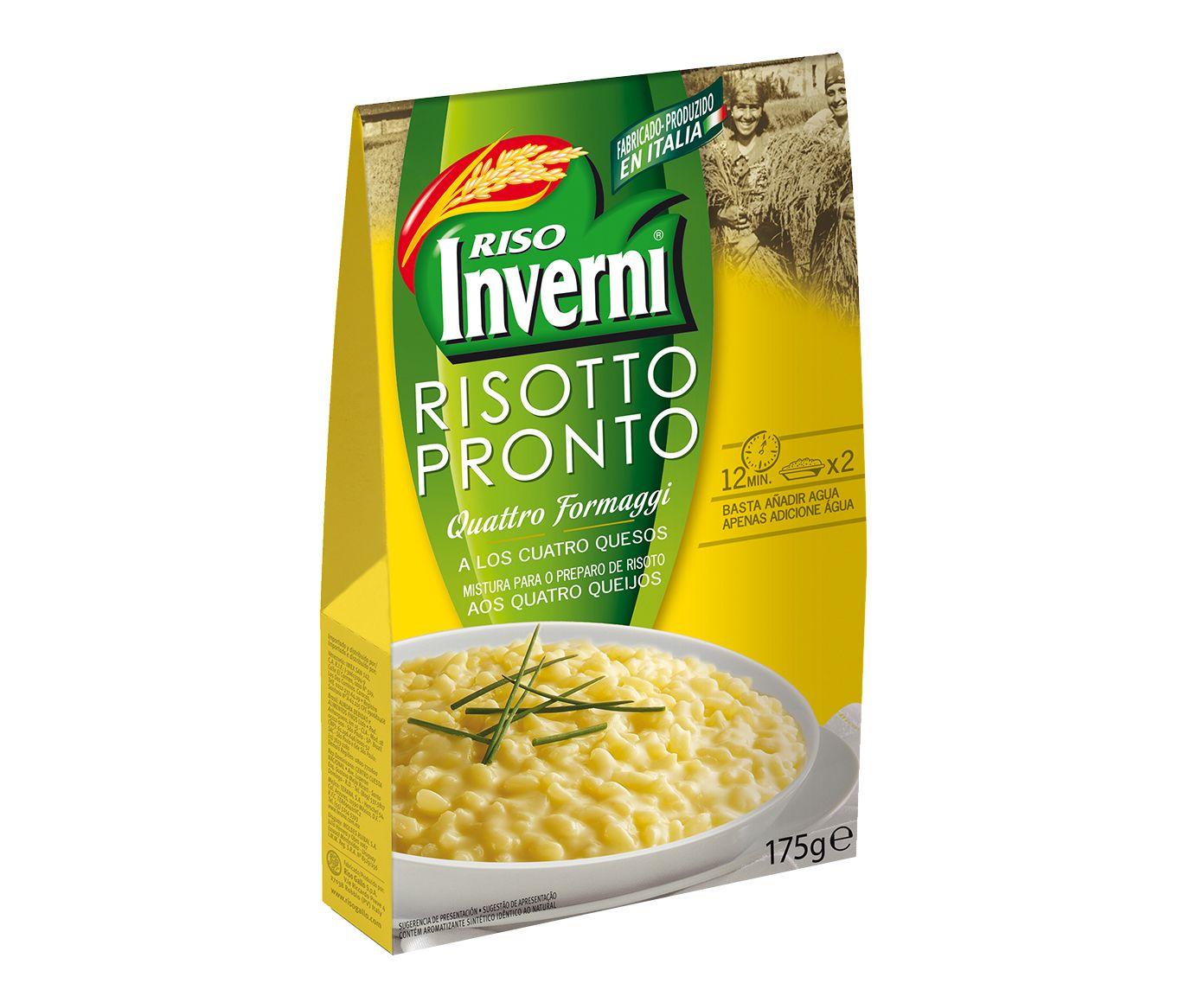 Risotto Italiano Inverni 4 Formaggi - 175G   Westwing.com.br