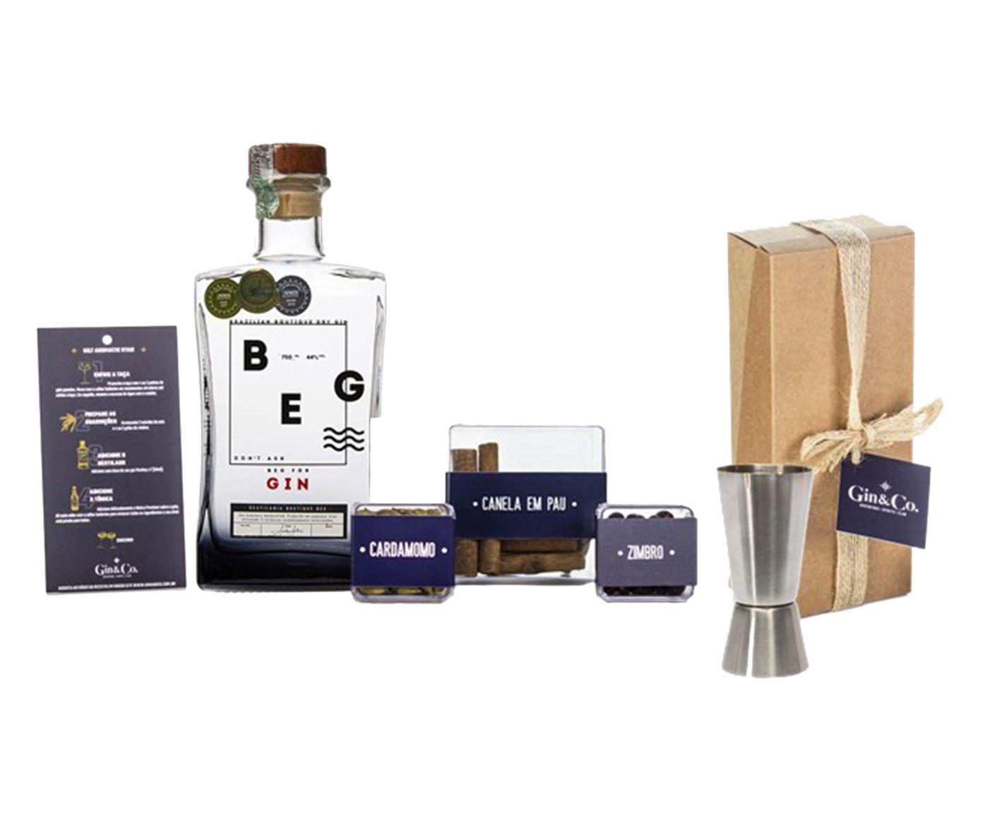 Jogo para Preparo em Inox de Gin Beg | Westwing.com.br