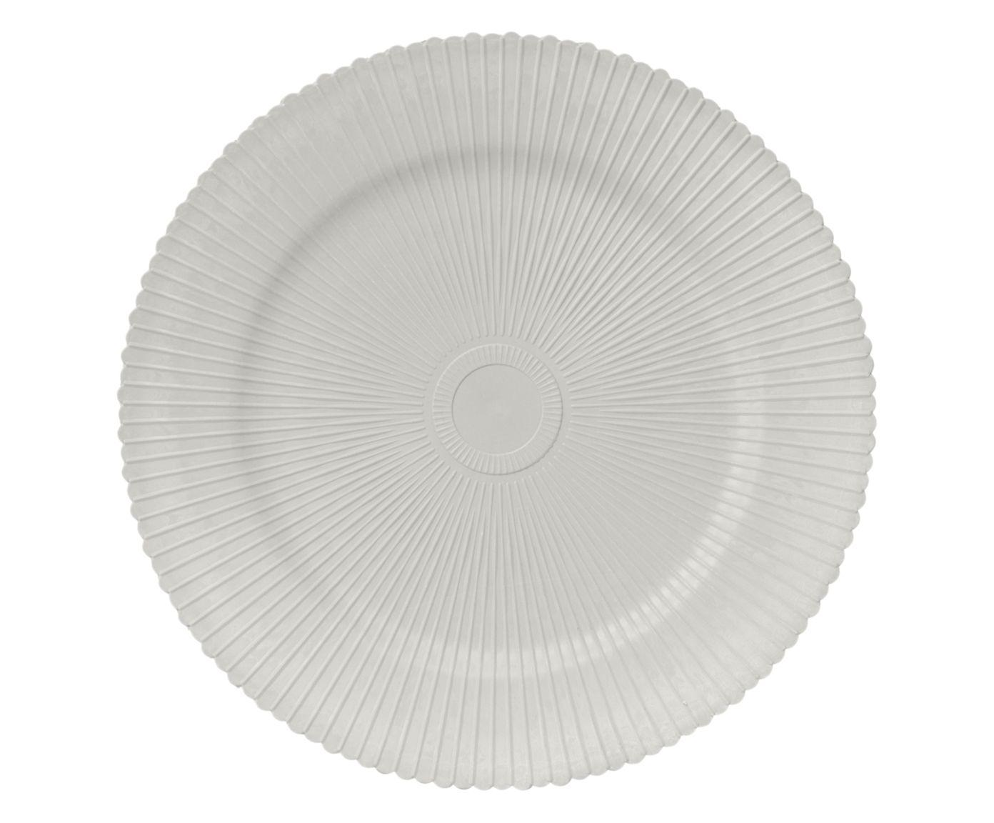 Sousplat Ônix Branco - 33cm | Westwing.com.br