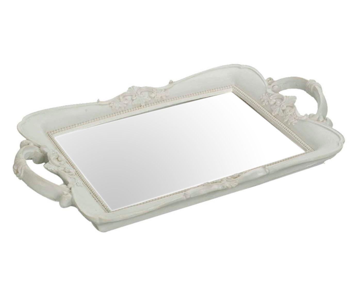 Bandeja mirror arabesc square | Westwing.com.br