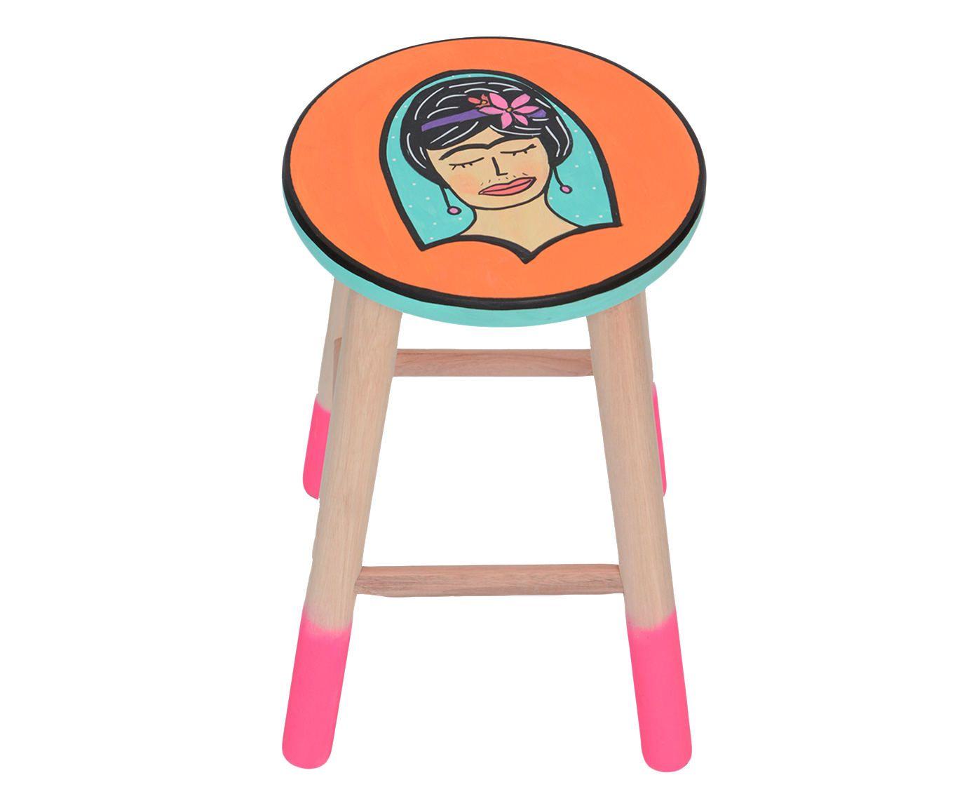 Banquinho Retrato de Frida | Westwing.com.br