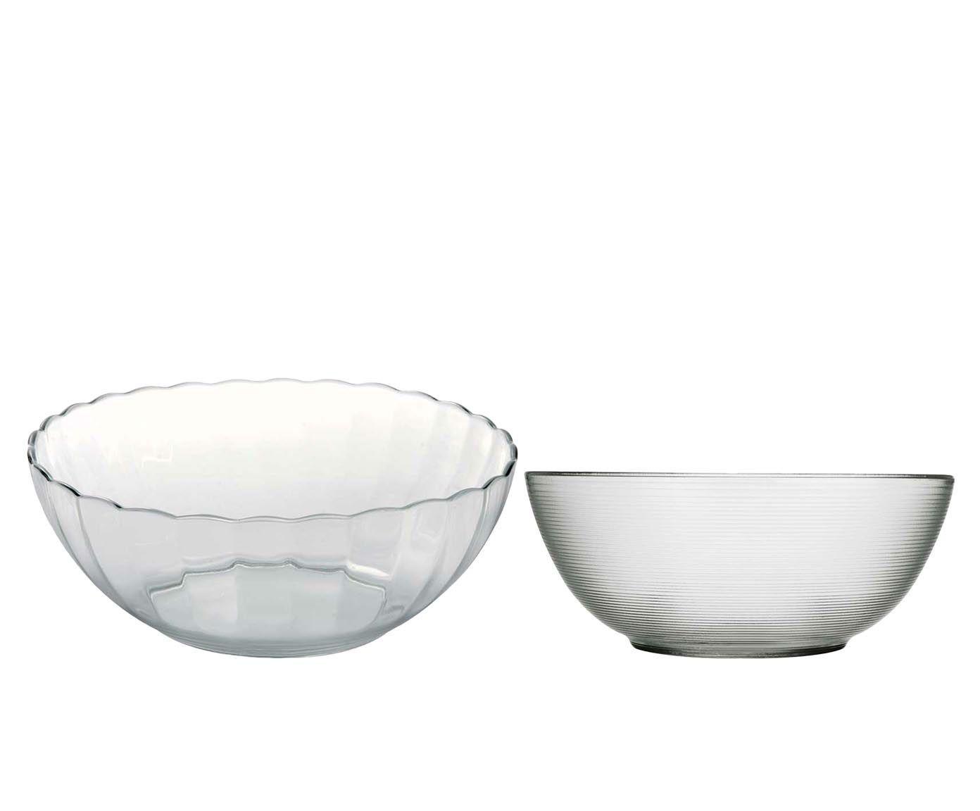 Conjunto de tigela e saladeira astral diamond -duralex | Westwing.com.br