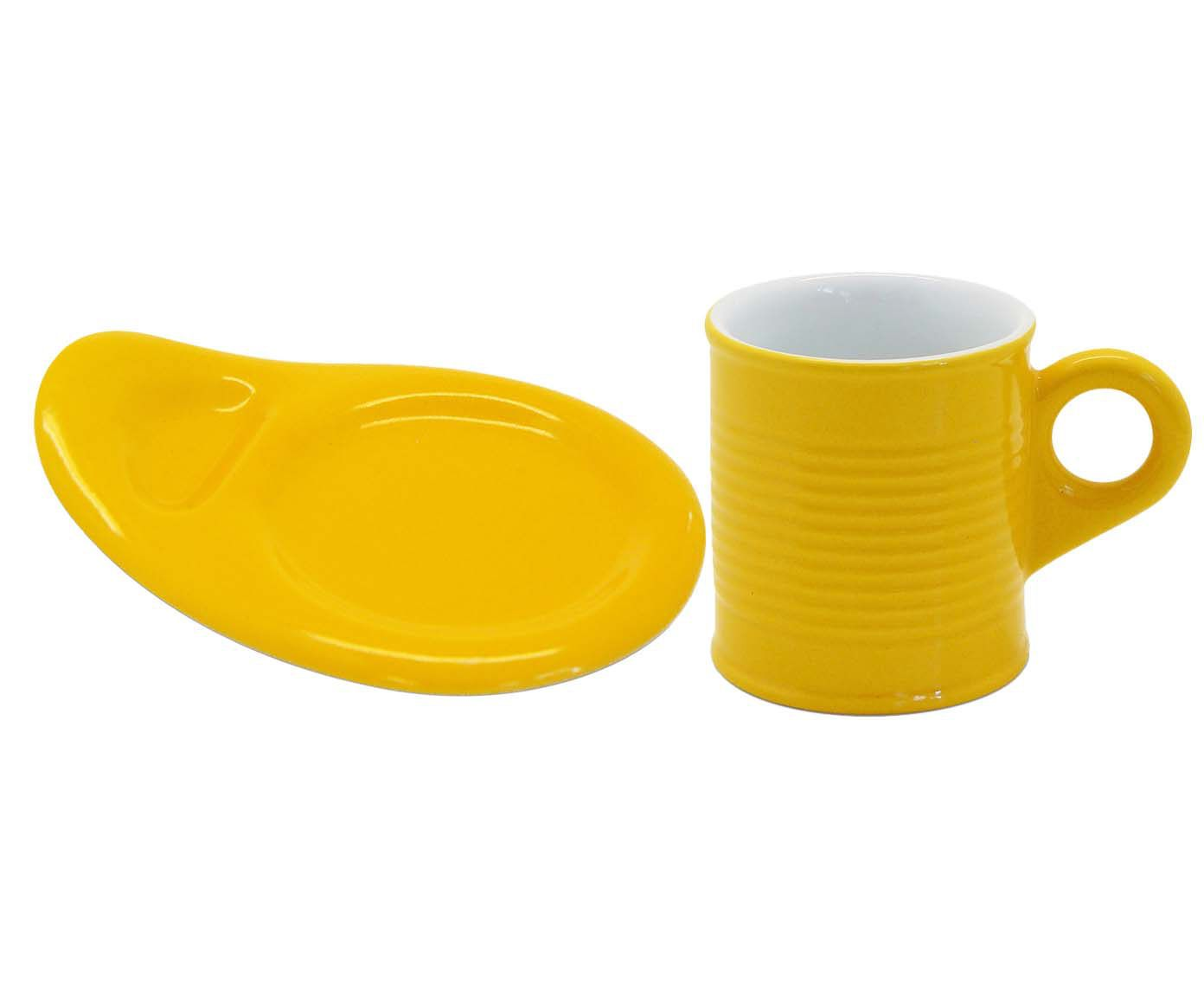 Conjunto de Xícaras para Café com Pires Espalier - Soleil 70 ml | Westwing.com.br