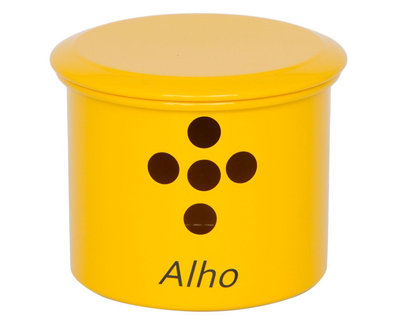 Porta-Alho Kead - Amarelo | Westwing.com.br