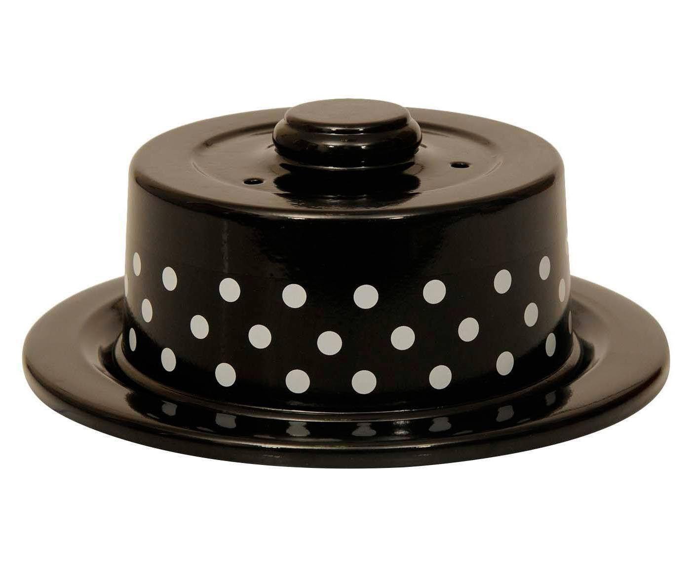 Boleira Polka Dots - Preta e Branca | Westwing.com.br