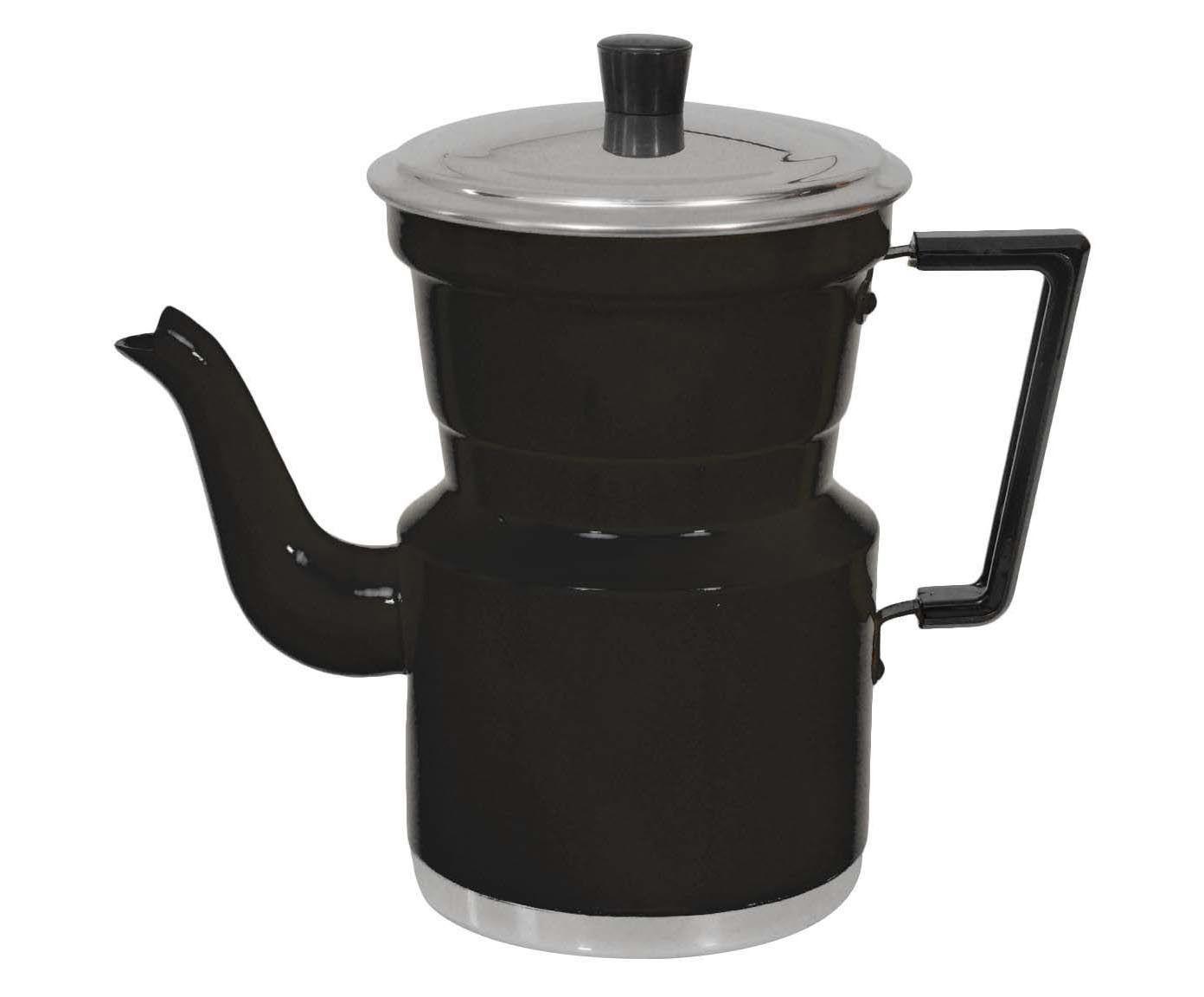 Cafeteira Slim Preta - 1,5L | Westwing.com.br