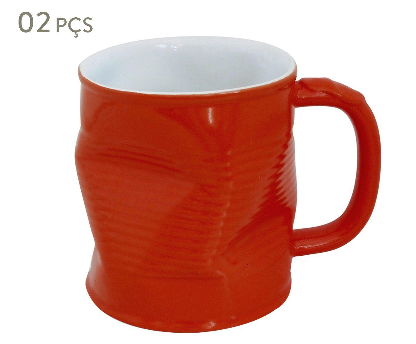 Conjunto de Canecas Smashed Rouge - 320 ml | Westwing.com.br