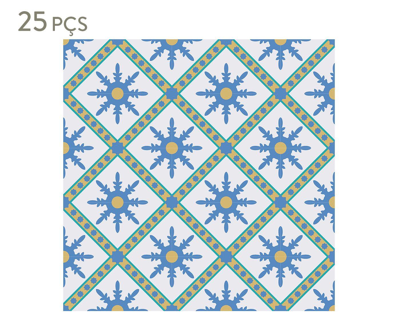 Conjunto de ladrilhos adesivos petris - 10 cm | Westwing.com.br