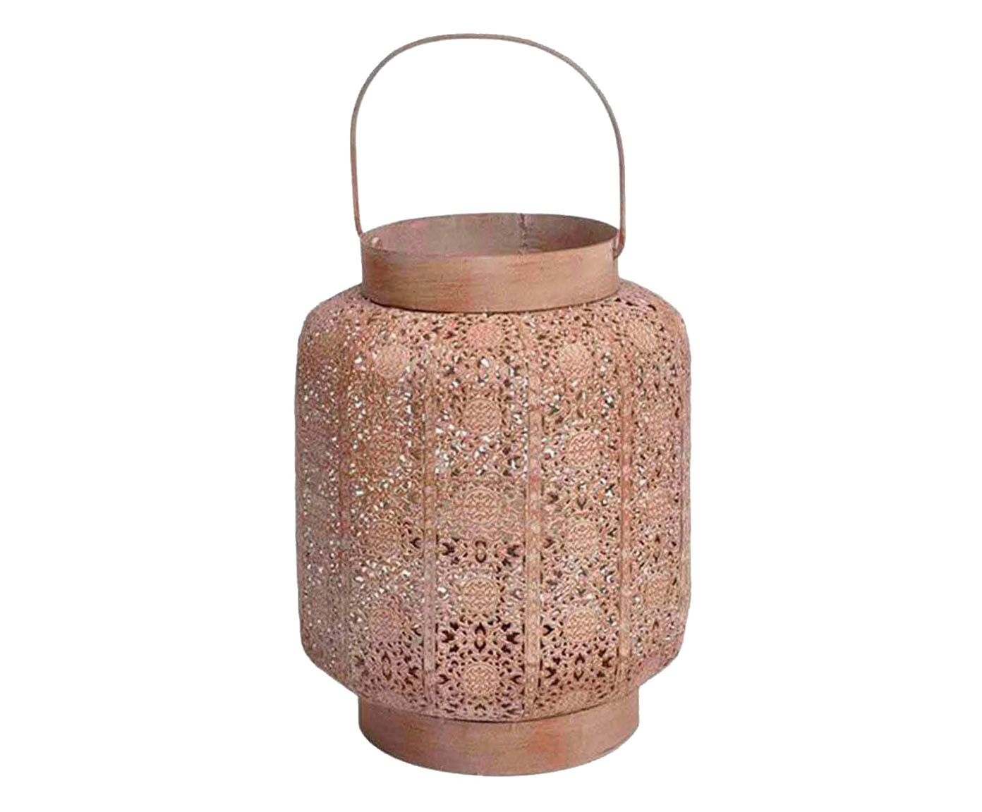 Porta-vela marrakesk - 23 x 19 cm   Westwing.com.br