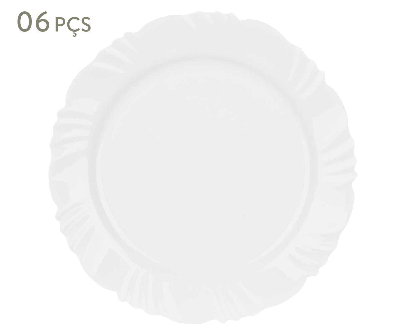 Conjunto de pratos rasos bott - duralex | Westwing.com.br