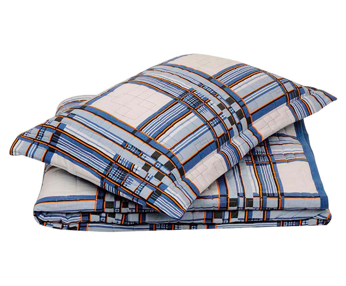 Conjunto de cobre-leito bed men - para cama queen size   Westwing.com.br