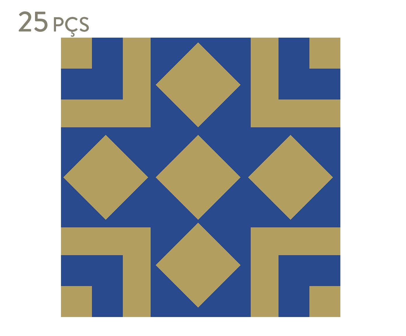 Conjunto de ladrilhos adesivos carone - 20 cm | Westwing.com.br