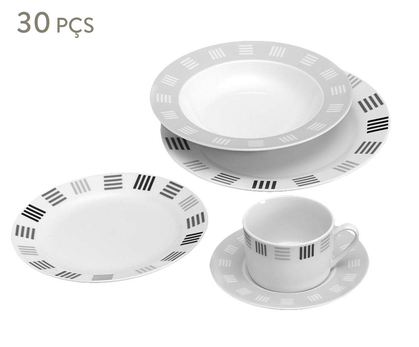 Aparelho de jantar janine para 06 pessoas - r&b | Westwing.com.br