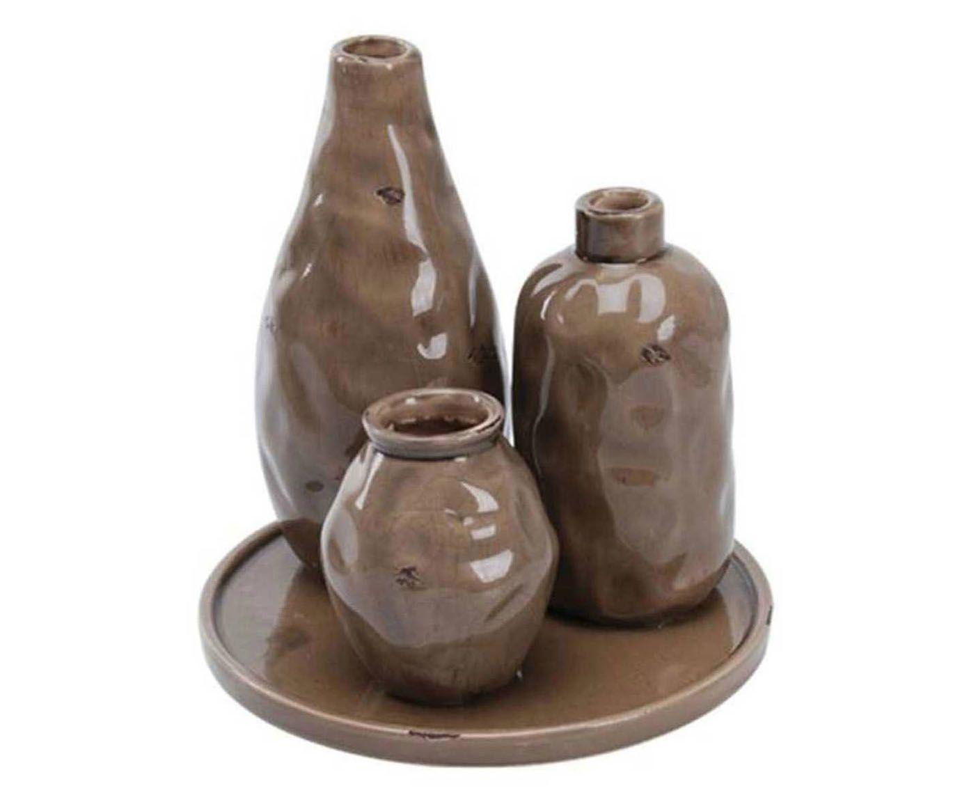 Conjunto de vasos creation - land   Westwing.com.br
