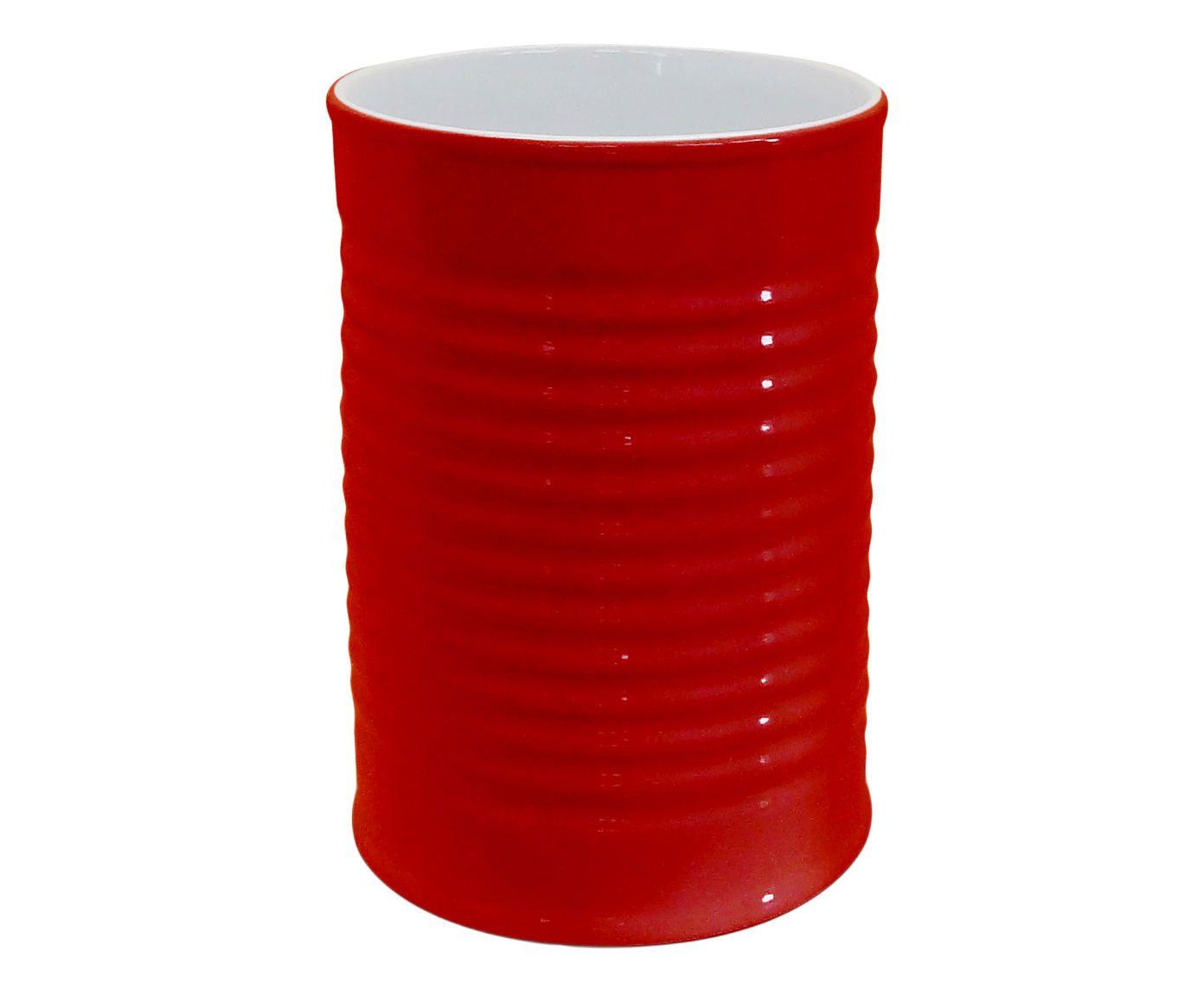 Porta-Utensílios Can - Vermelho   Westwing.com.br