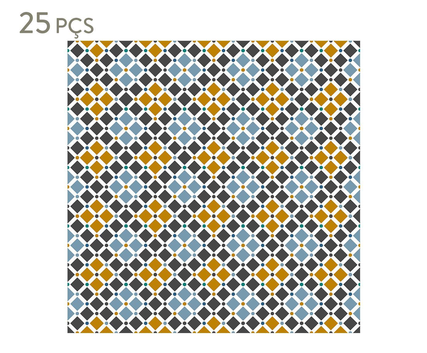 Conjunto de ladrilhos adesivos ceon - 10 cm | Westwing.com.br