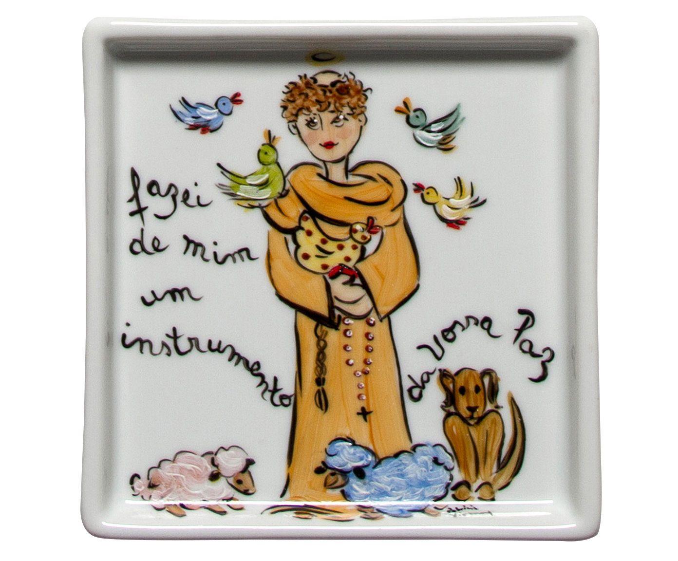 Prato são francisco santeiro patricia virmond | Westwing.com.br