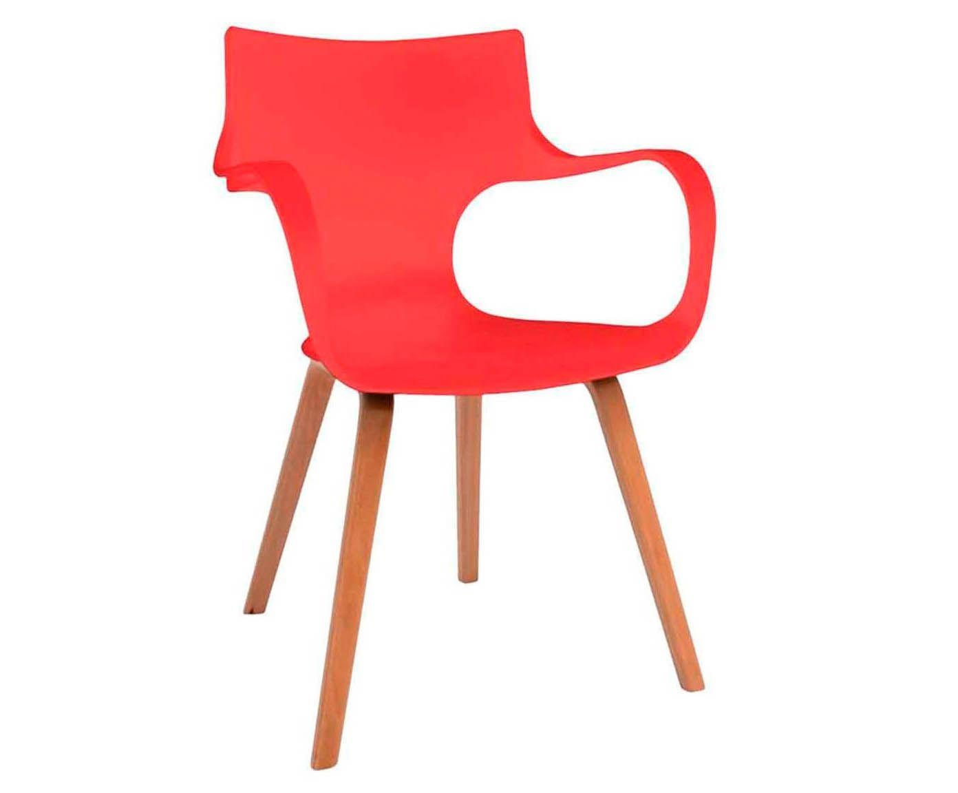 Cadeira Curves - Vermelha   Westwing.com.br