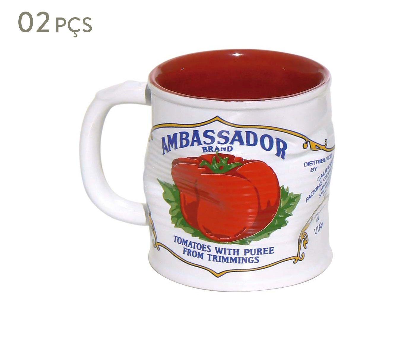 Conjunto de Canecas Smashed ambassador - 220 ml | Westwing.com.br