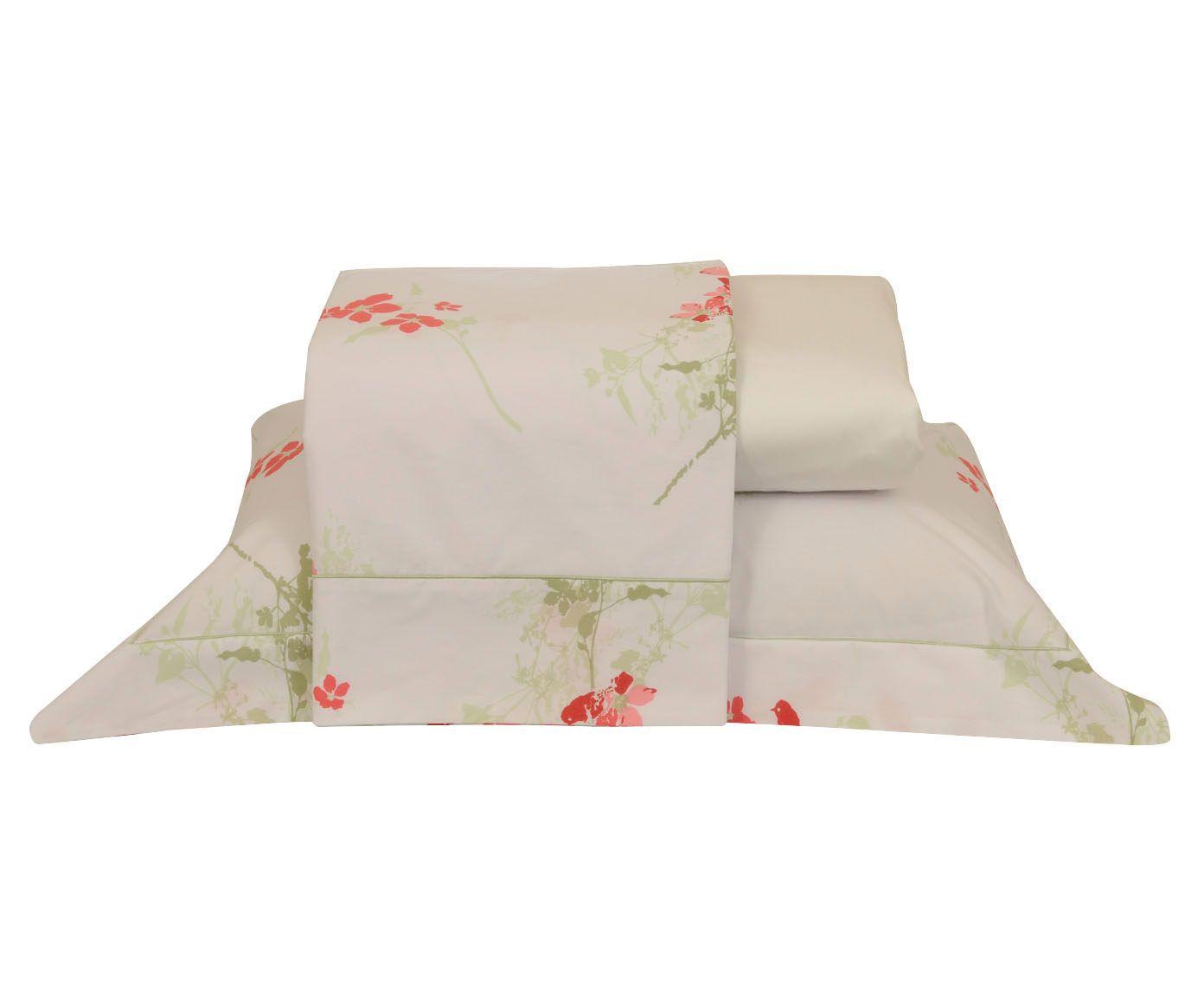 Jogo de lençol essence para cama de casal 200 fios | Westwing.com.br