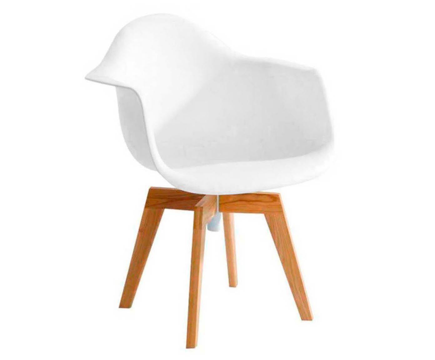 Cadeira Giratória Finella - Branca   Westwing.com.br