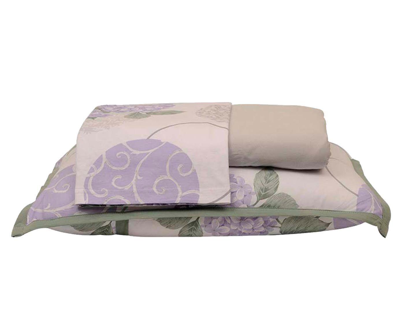 Jogo de lençol hortência - para cama king size | Westwing.com.br