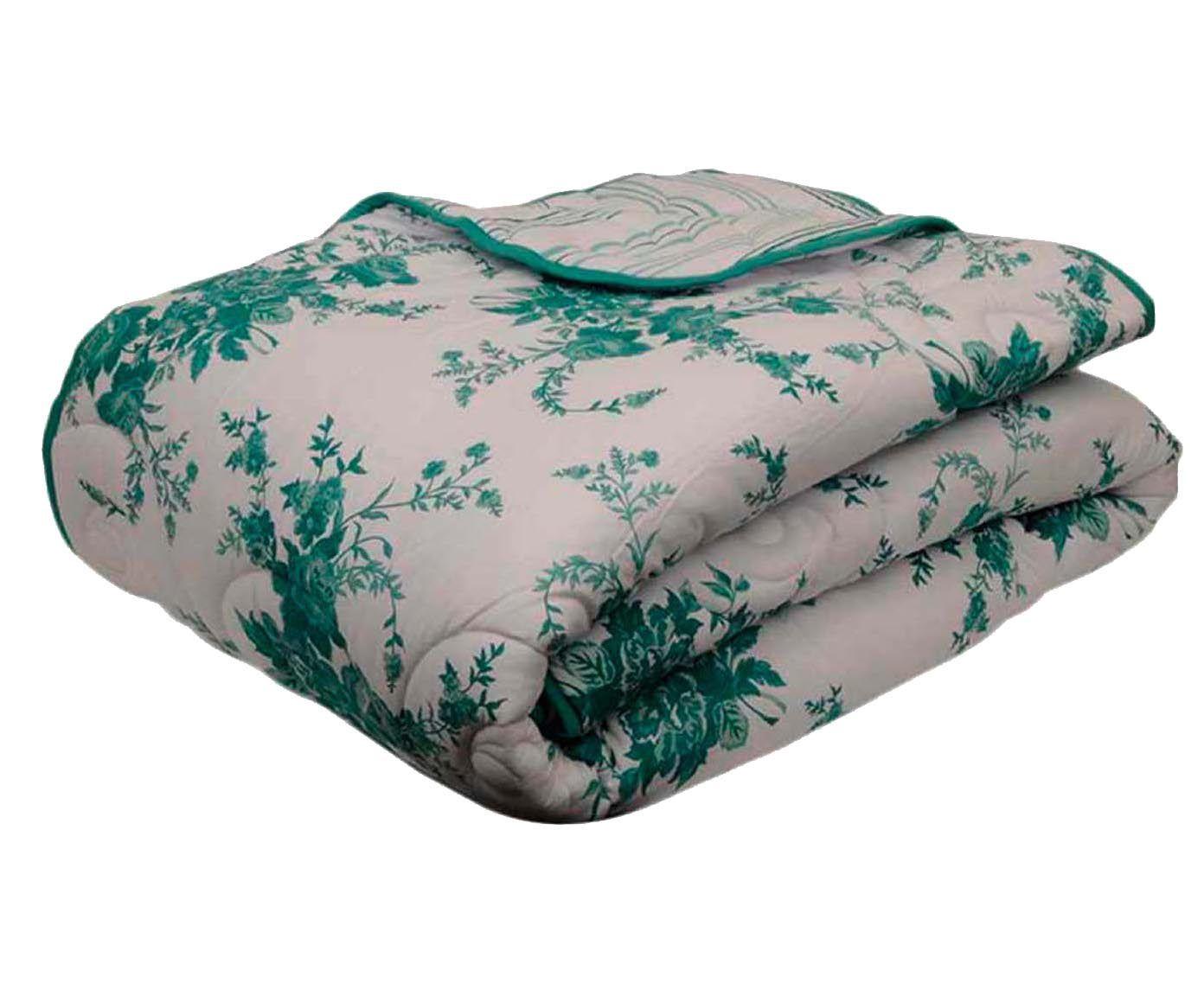 Edredom bouquet - para cama queen size   Westwing.com.br
