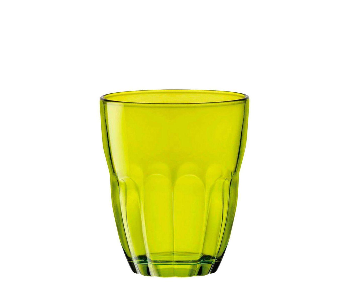 Jogo de Copos para Água Ercole Verde - 230ml | Westwing.com.br