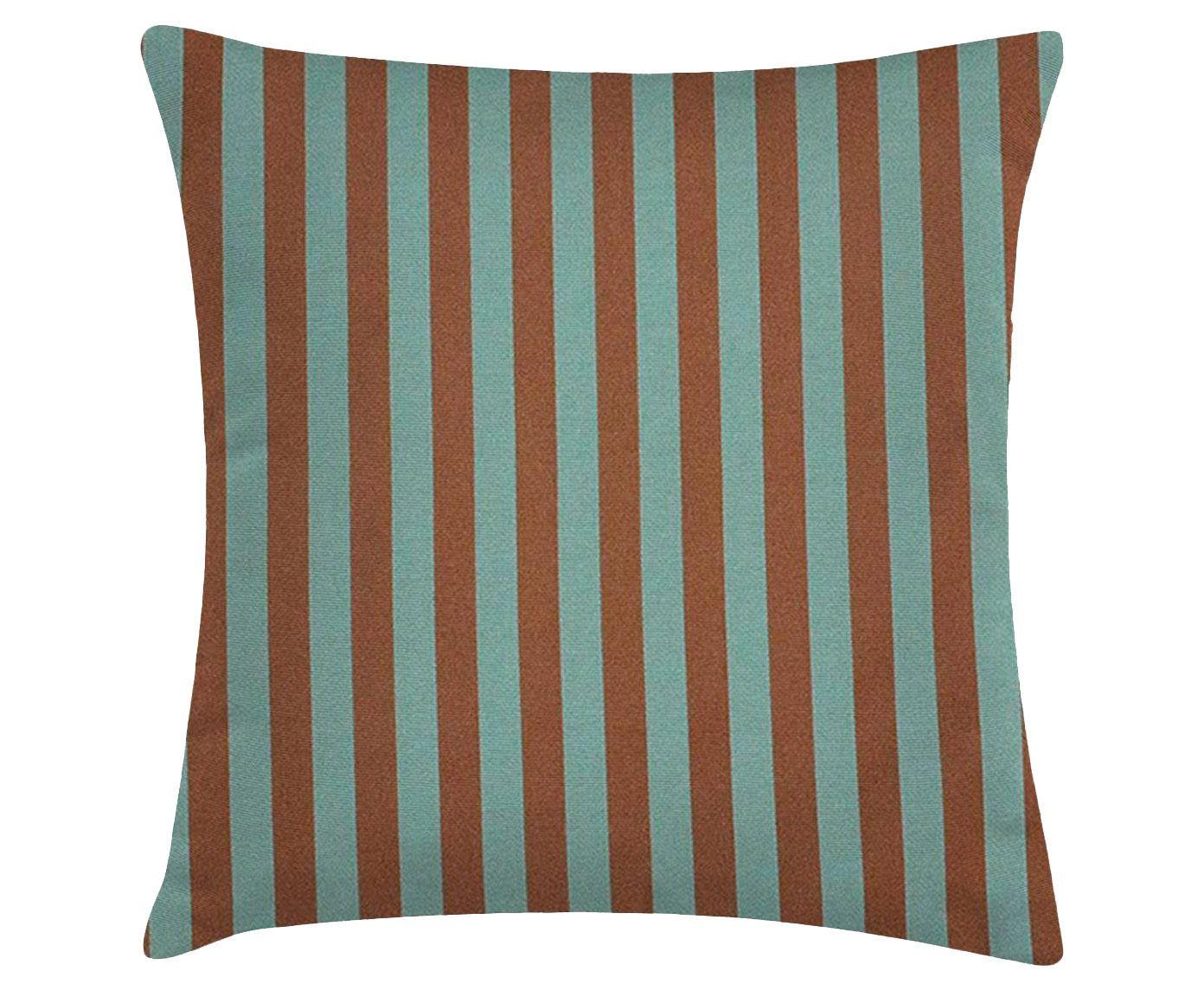 Capa para almofada palmas stripes zen - 45x45cm | Westwing.com.br