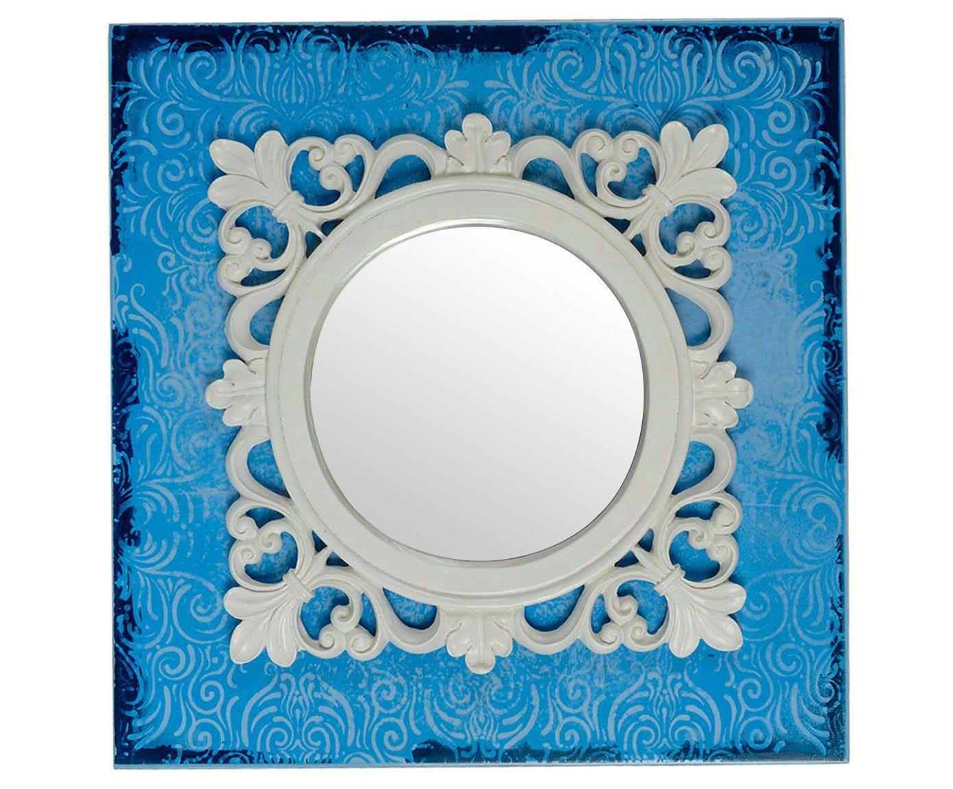 Quadro com Espelho Belle Forms Square - 45X45cm   Westwing.com.br