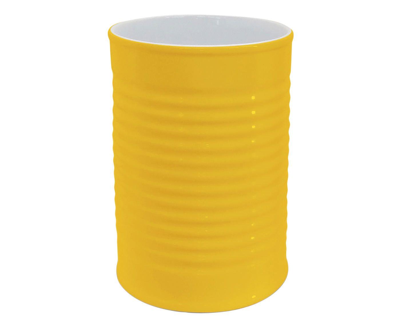 Porta-Utensílios Can - Amarelo | Westwing.com.br