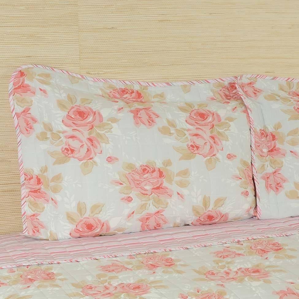 Conjunto de cobre-leito versatt flower para cama queen size - ritz   Westwing.com.br