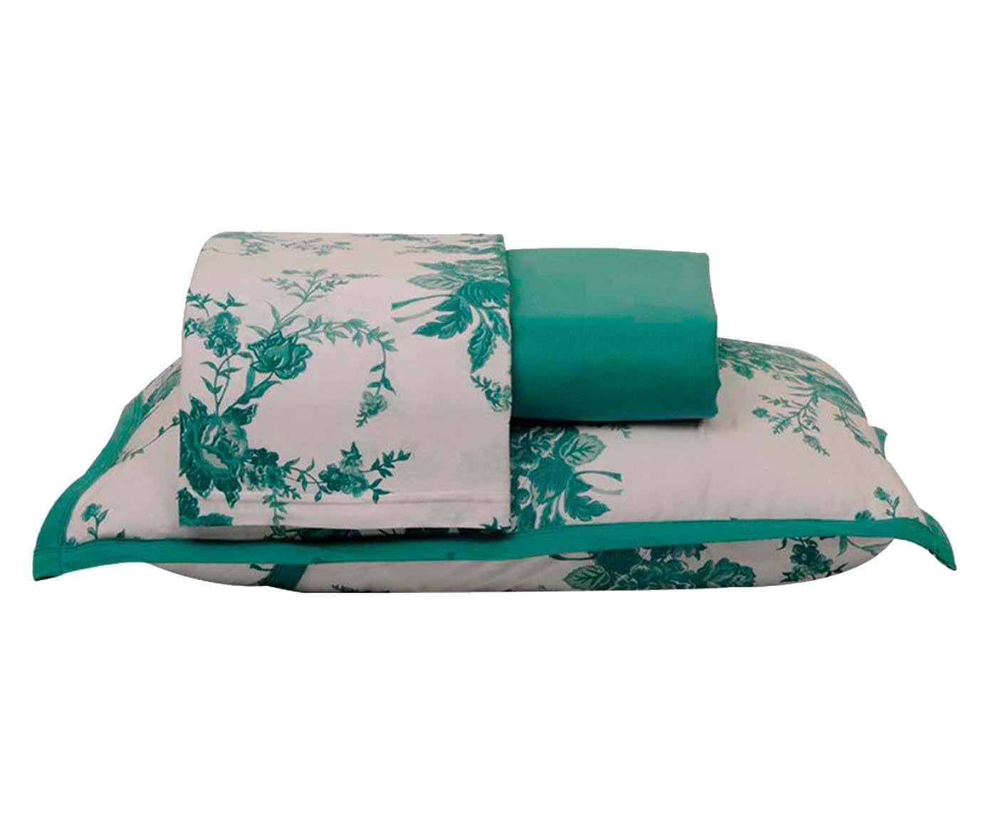 Jogo de lençol bouquet - para cama de solteiro   Westwing.com.br