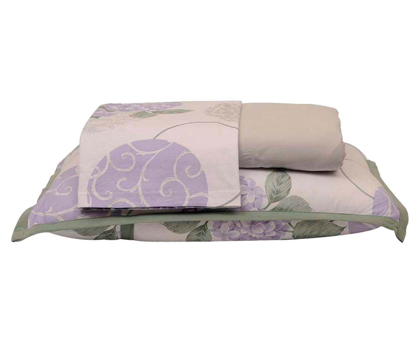 Jogo de lençol hortência - para cama de casal   Westwing.com.br