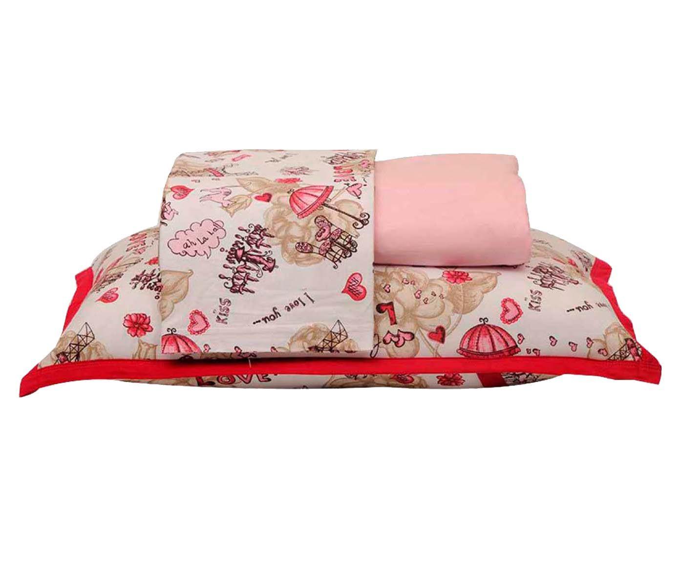 Jogo de lençol sweet girl - para cama de solteiro | Westwing.com.br