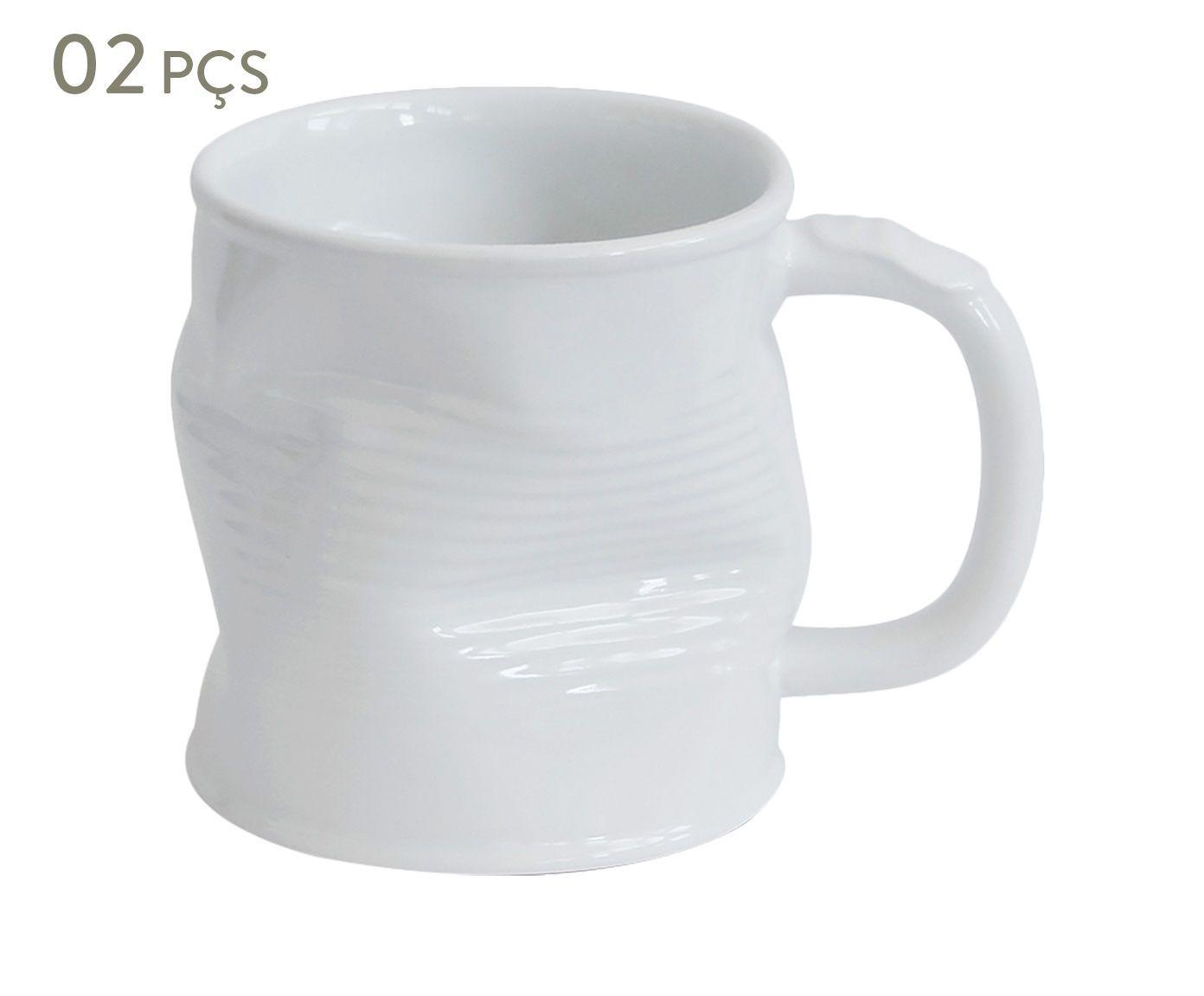 Conjunto de Canecas Smashed Union - 220 ml   Westwing.com.br
