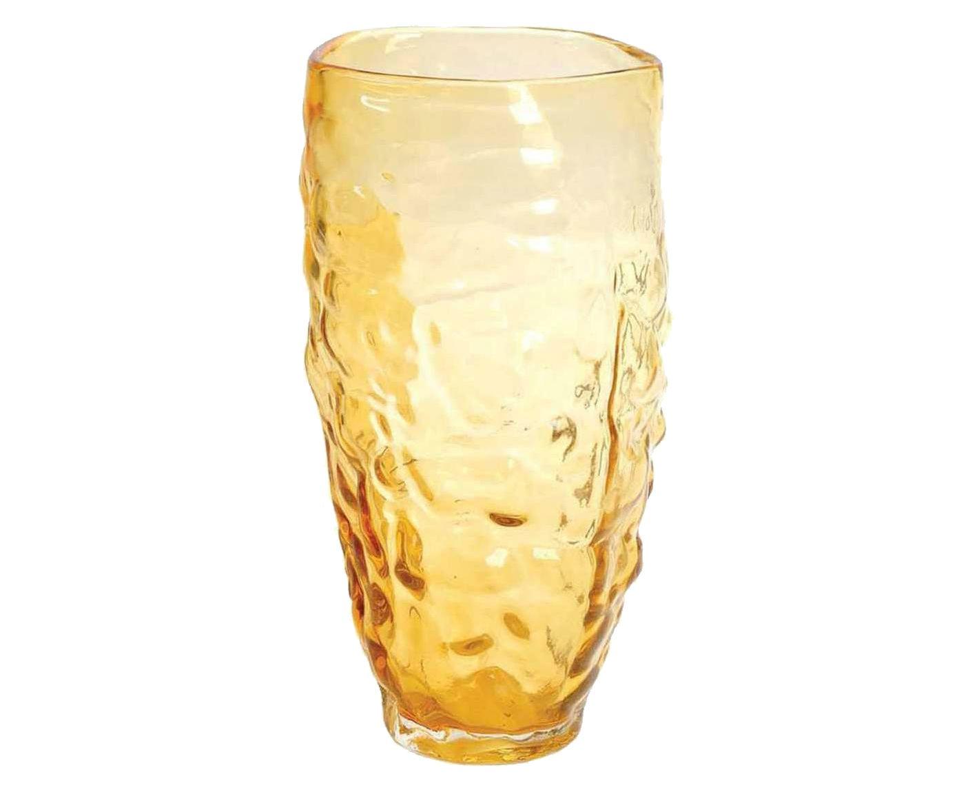 Vaso forms clear ipê - 34 x 17 cm   Westwing.com.br
