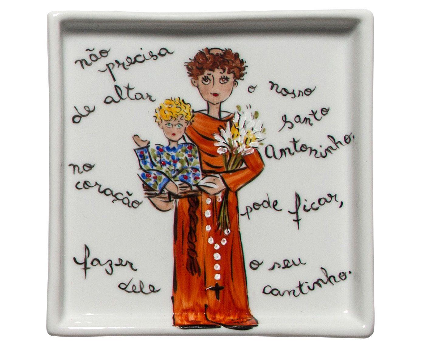 Prato santo antônio santeiro - patricia virmond | Westwing.com.br