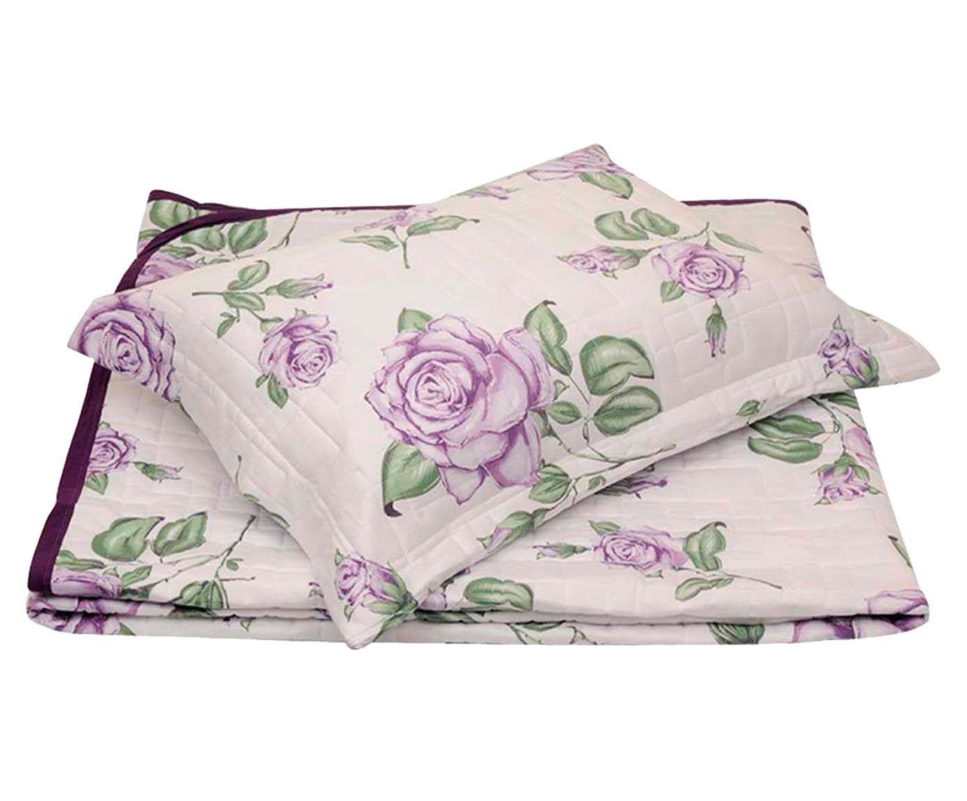 Conjunto de cobre-leito garden girl - para cama de solteiro   Westwing.com.br