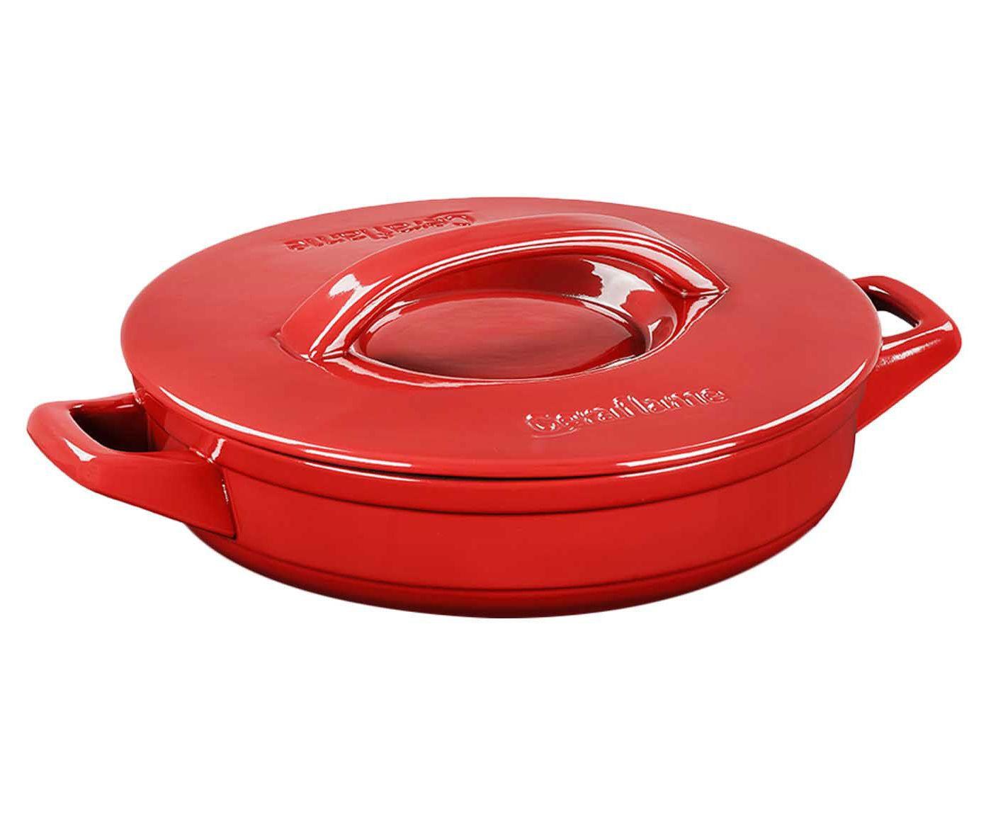 Paellera Buffet Line Vermelha- 2,5L | Westwing.com.br
