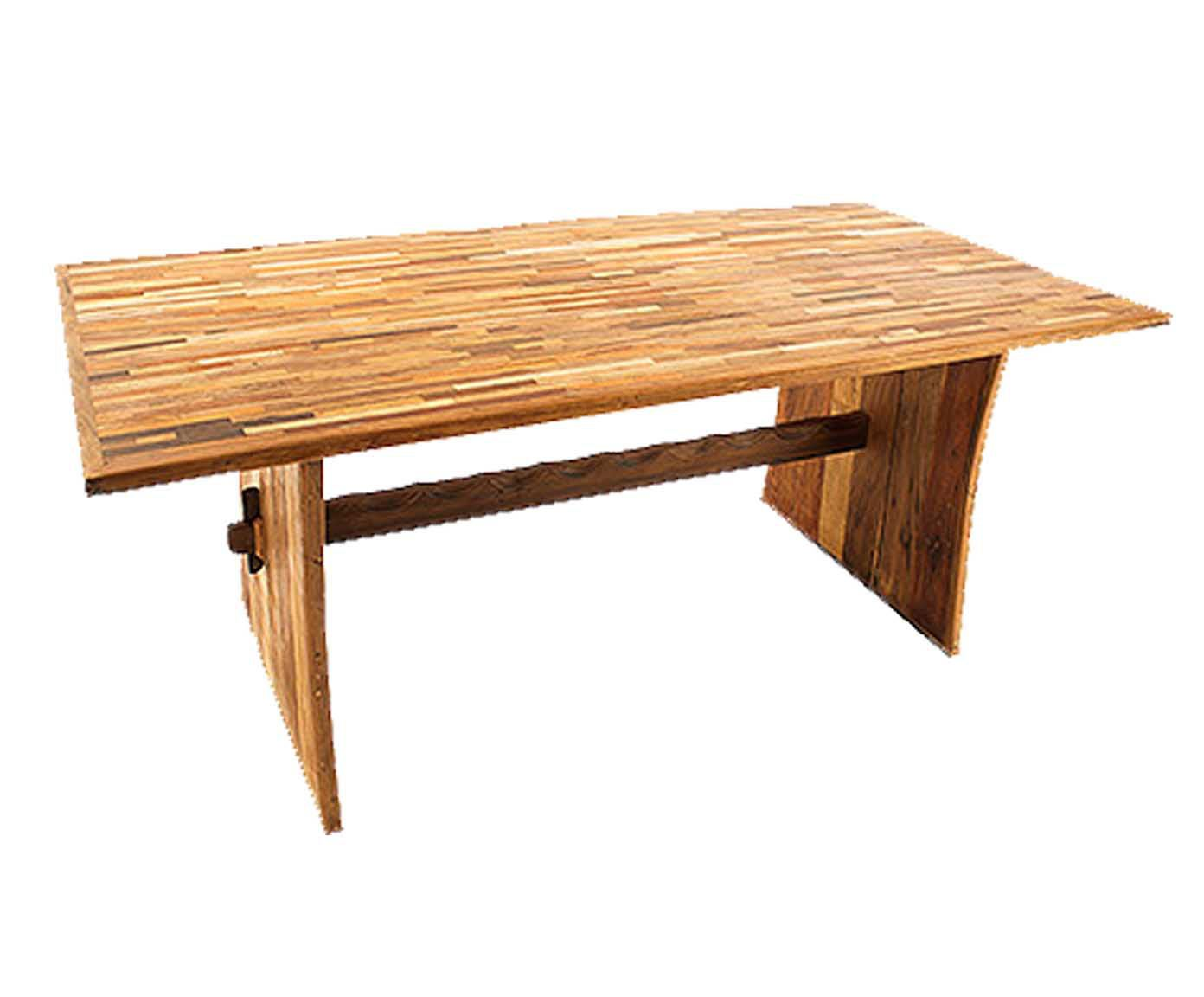 Mesa ouro rustic   Westwing.com.br