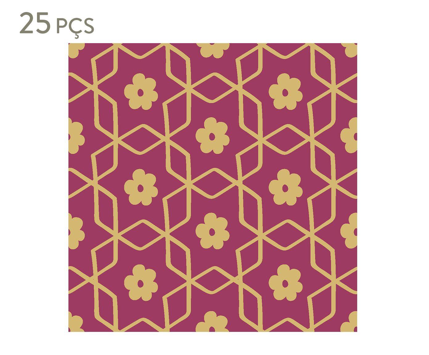 Conjunto de ladrilhos adesivos ermean - 15 cm   Westwing.com.br