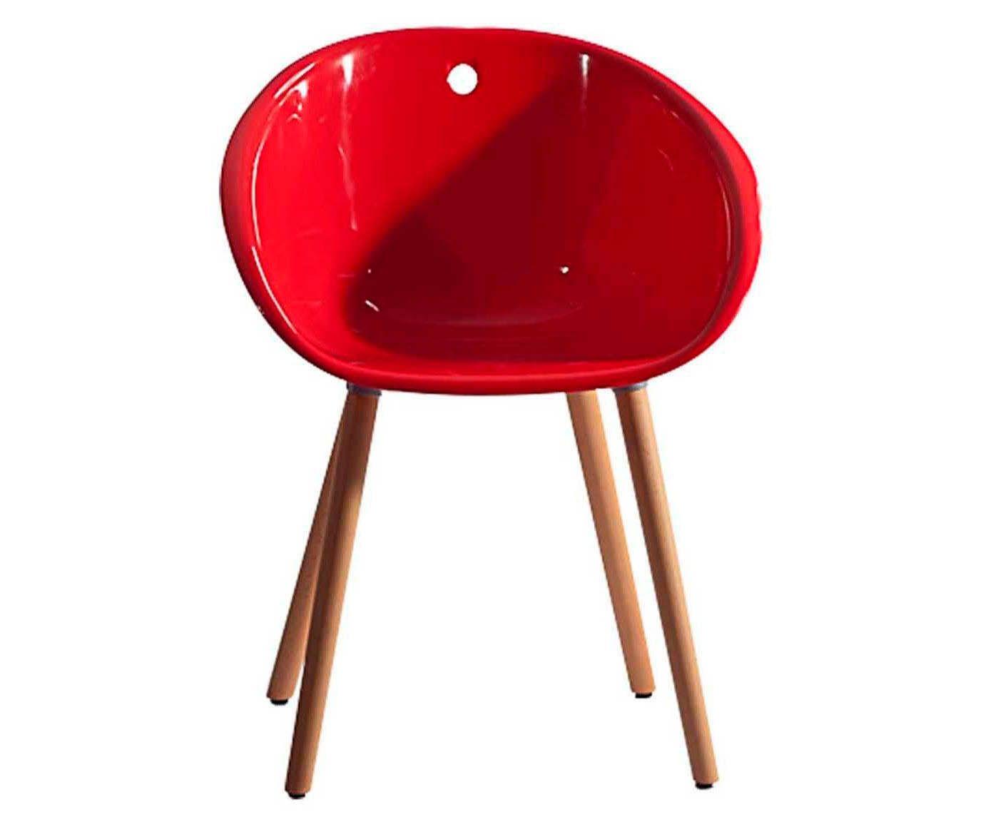 Cadeira Circle - Vermelha   Westwing.com.br