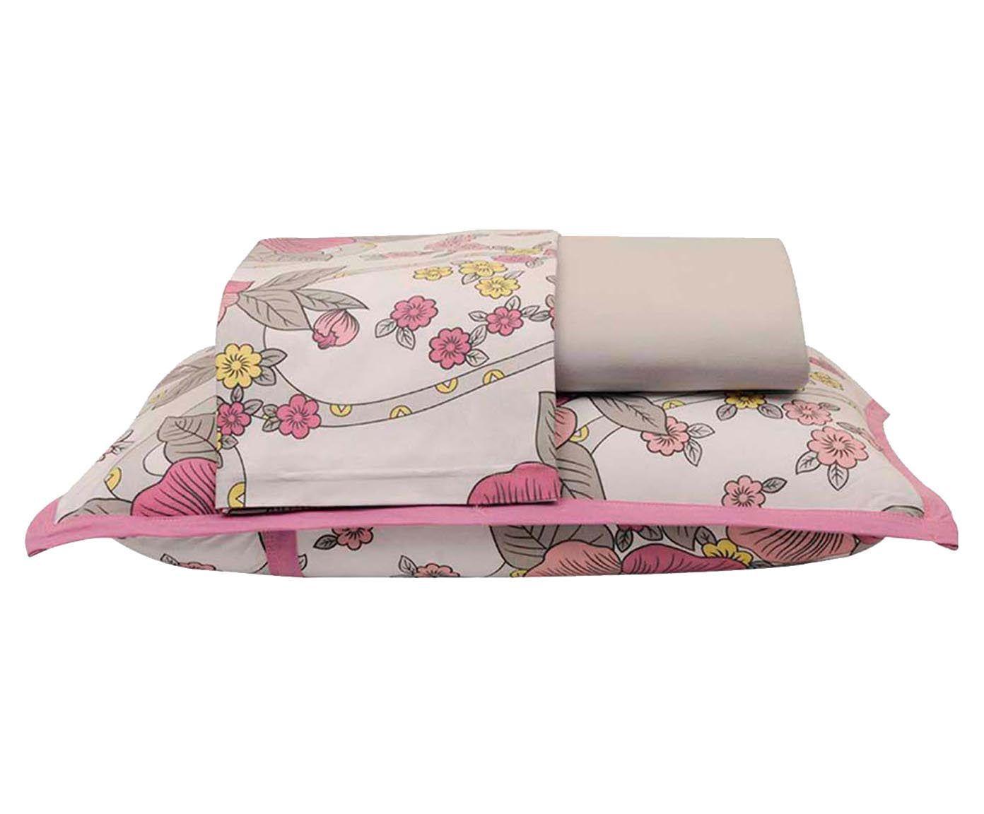 Jogo de lençol flowers - cama king size | Westwing.com.br