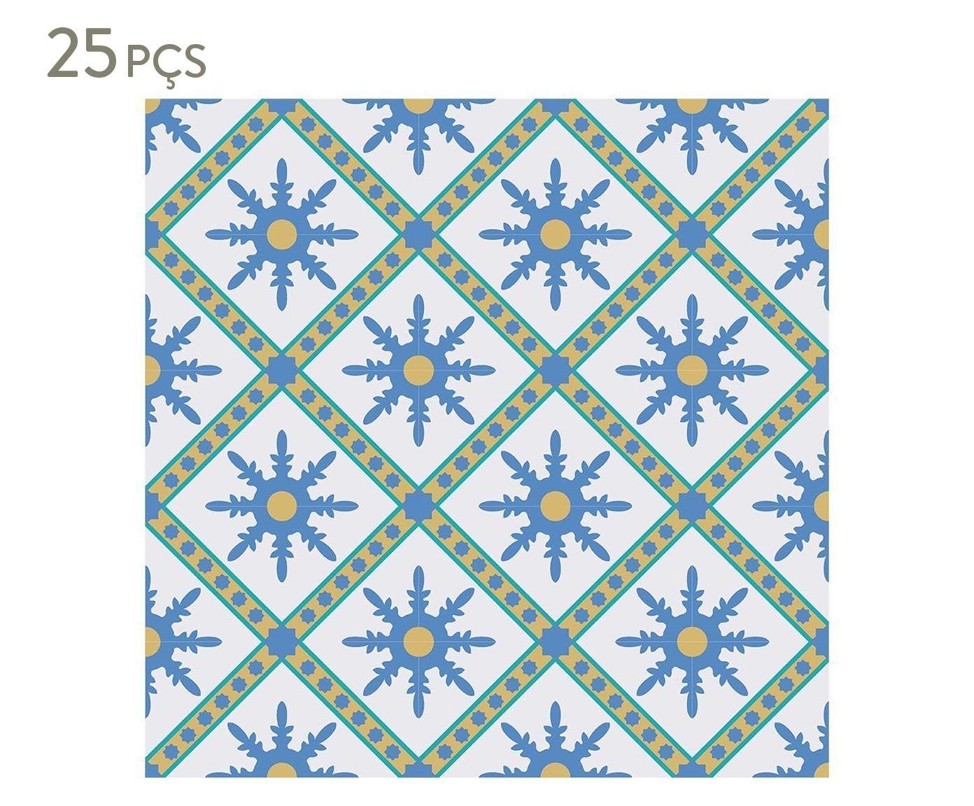Conjunto de ladrilhos adesivos petris - 20x20cm | Westwing.com.br