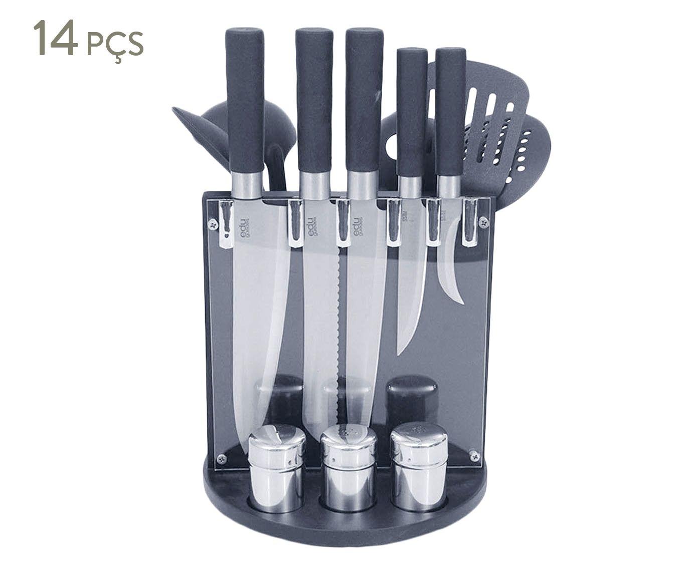 Jogo para Cozinha Stainless Ease | Westwing.com.br