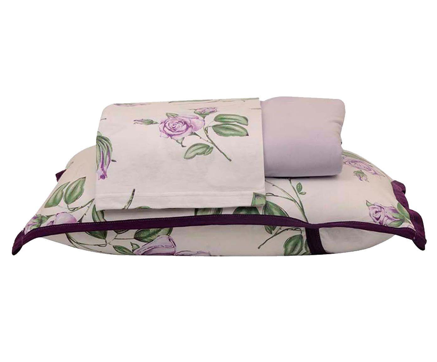 Jogo de lençol garden - para cama de casal   Westwing.com.br