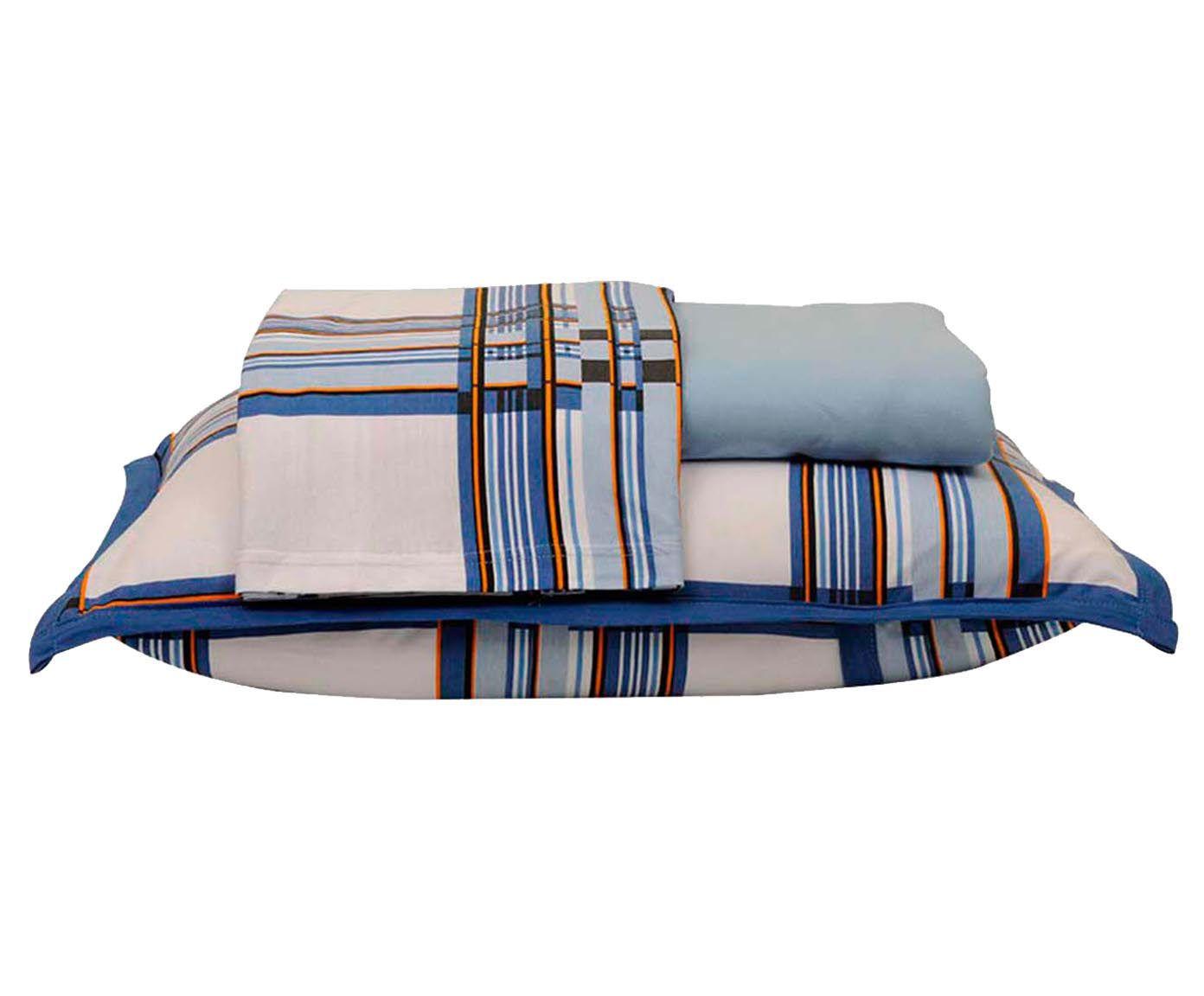 Jogo de lençol bed men - para cama queen size | Westwing.com.br